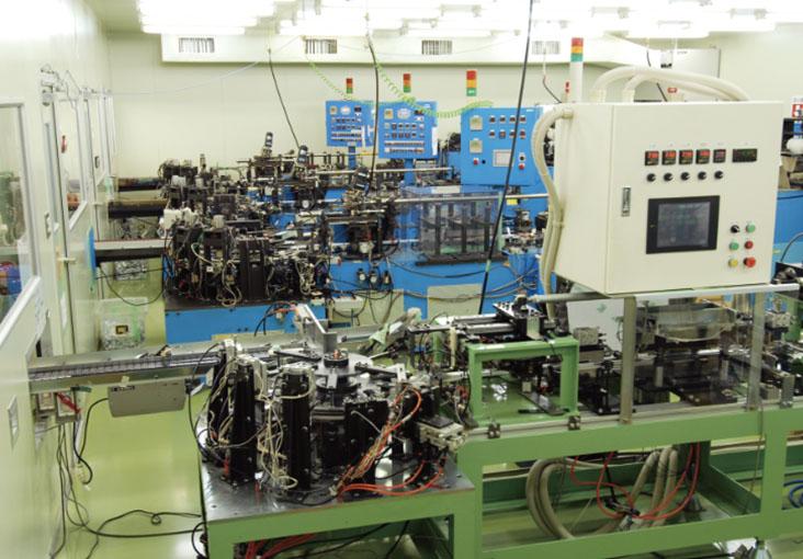 オリジナルマシンを開発し、高品質の商品を提供